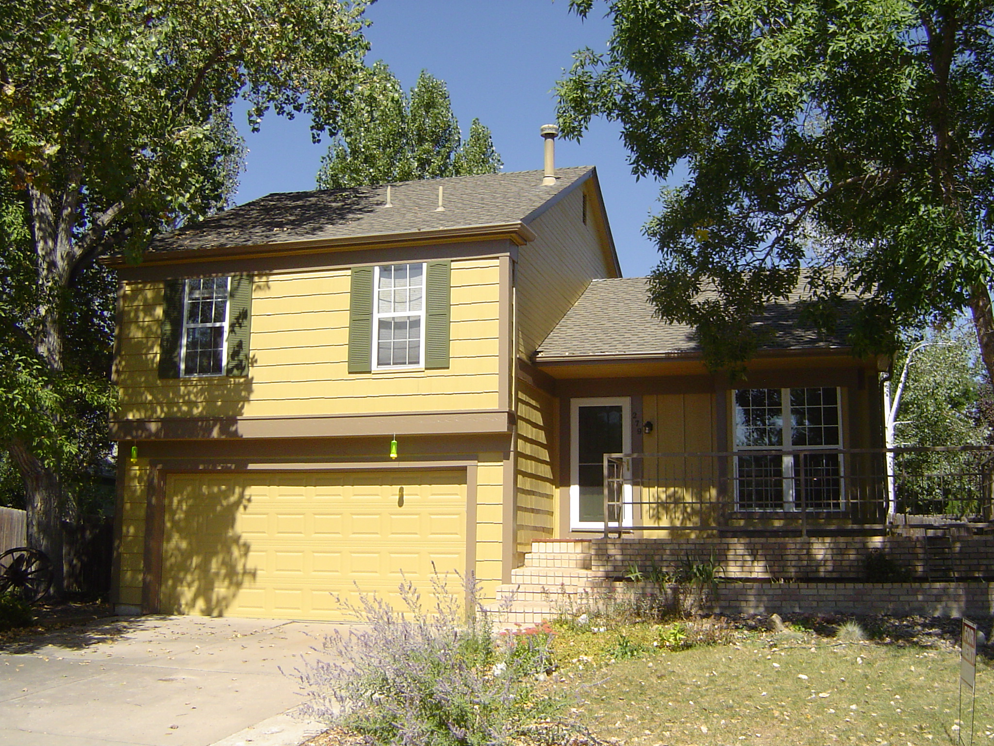 Great exterior painting project of this prep for sale home - Prep exterior walls for painting ...