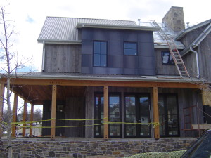 Beautiful Exterior Stain Paint Result On This New Construction In Boulder CO