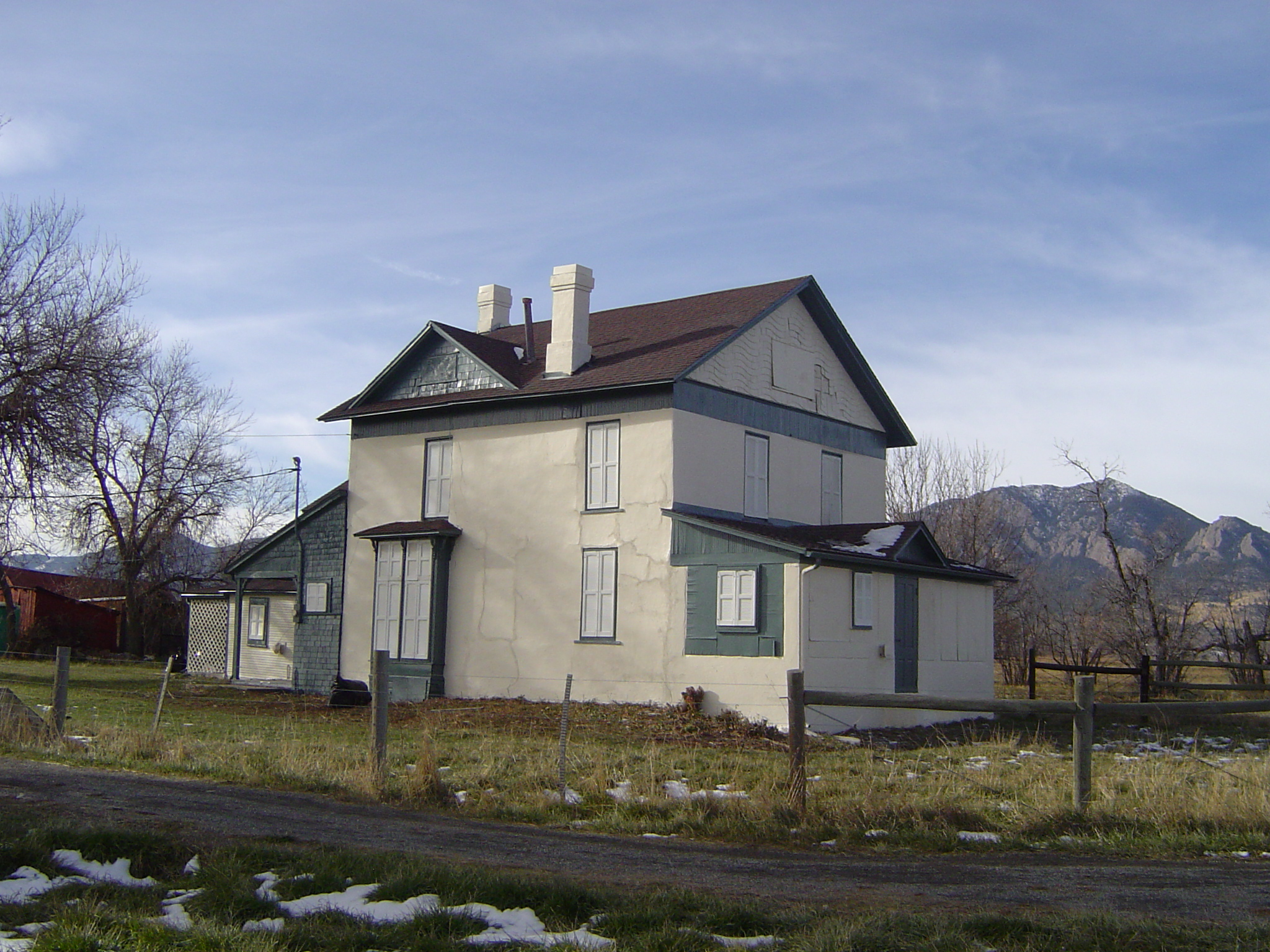 Historic Farm House Exterior Painting Update For Boulder